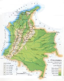 an analysis of colombia geography Drugs, violence and development in colombia: a department level analysis us support for the government of colombia (goc) is designed to attack every.